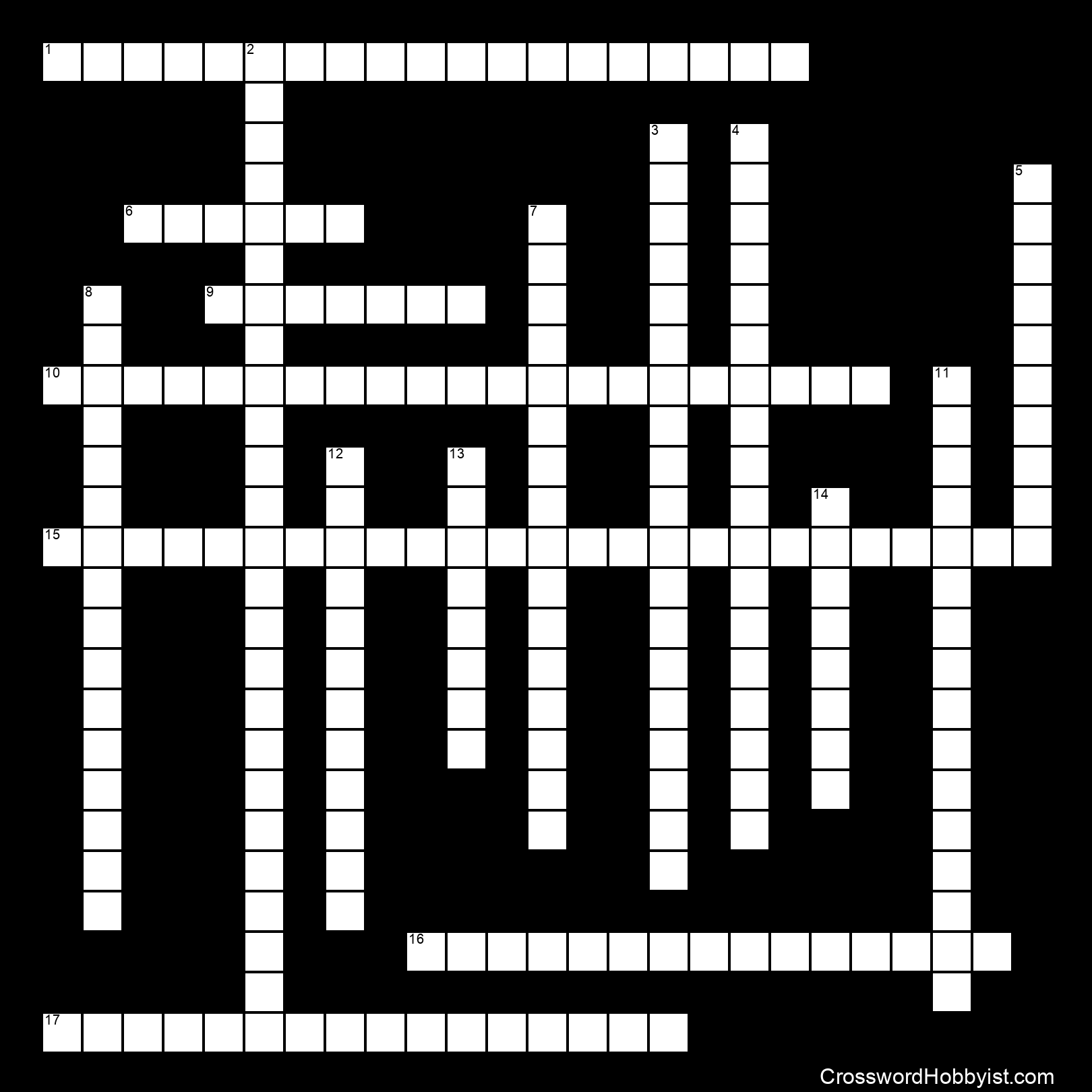 Chemical Reaction Crossword