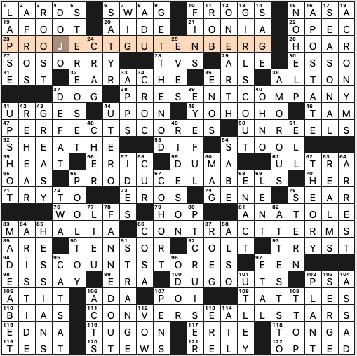 Sunday January 5 2020 Diary Of A Crossword Fiend