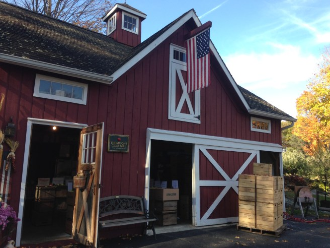 Thompson's Cider Mill has been in operation for 37 years.