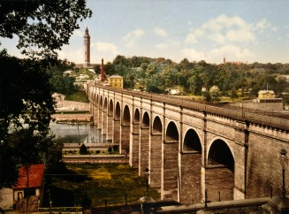 High Bridge, New York City, 1900. Detroit Publishing Company Photograph Collection, Library of Congress.