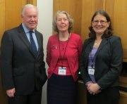 Charles Hendry MP with SBVP members