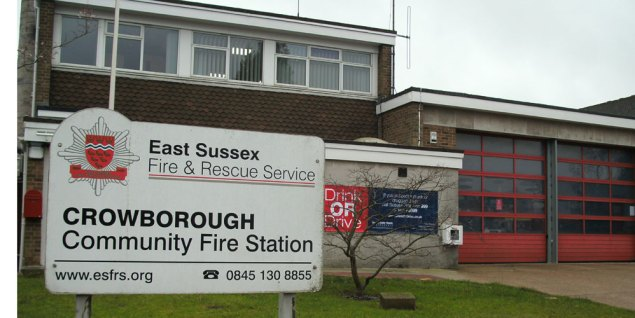 Crowborough Community Fire Station