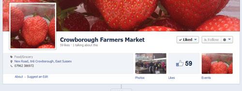 Crowborough Farmers Market on Facebook