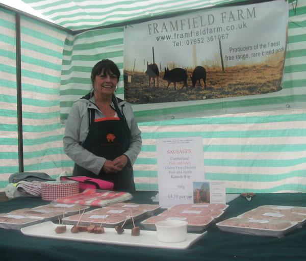 Paul Holgate from Framfield Farm