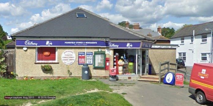 Poundfield Stores Green Lane Crowborough
