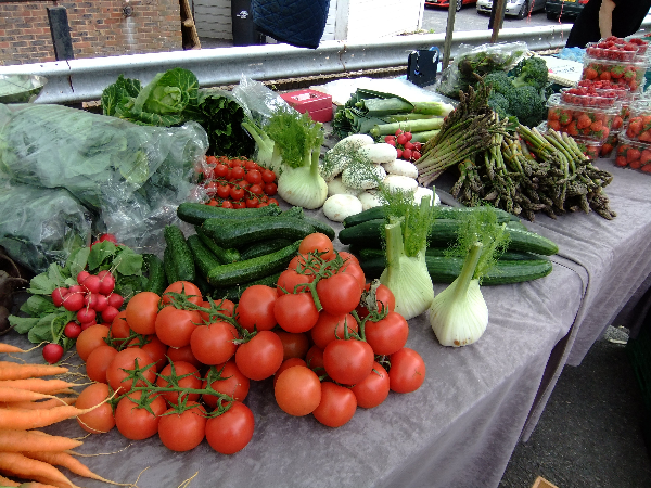 Veg at Crowborough Farmers Market