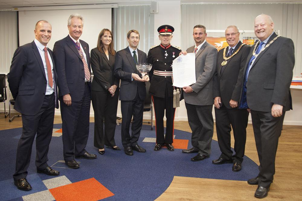 Queens Award Innovation Servomex Crowborough