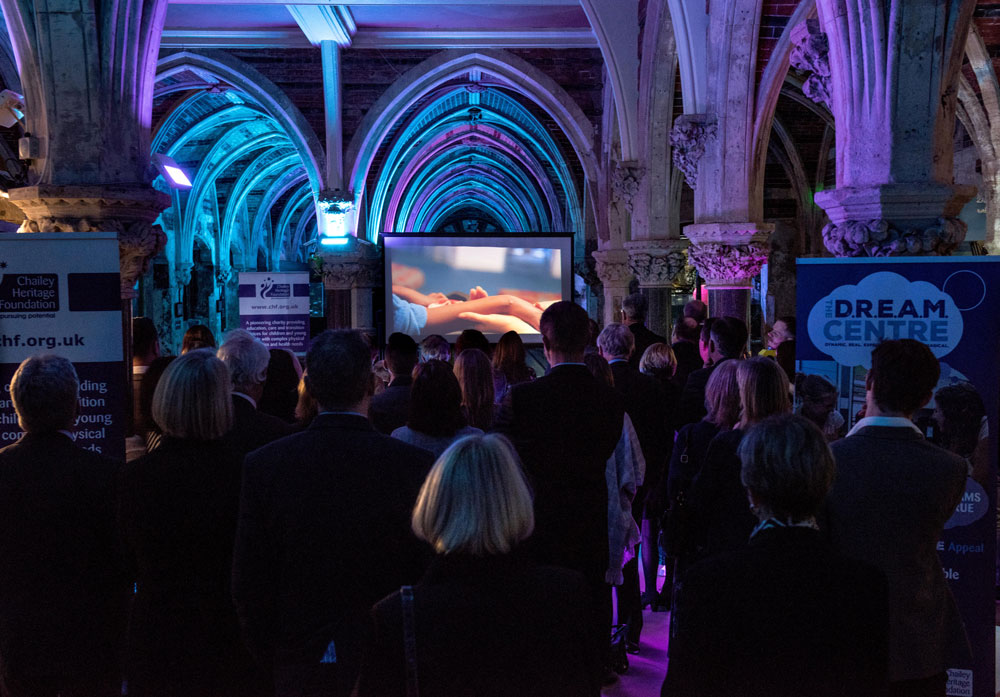 Launch of Chailey Heritage DREAM Centre at the Sealife Centre in Brighton