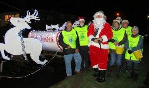 Crowborough Lions Santa Sleigh