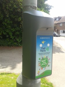 Beat the Street game in East Sussex. Beat Box on Pilmer Road in Crowborough