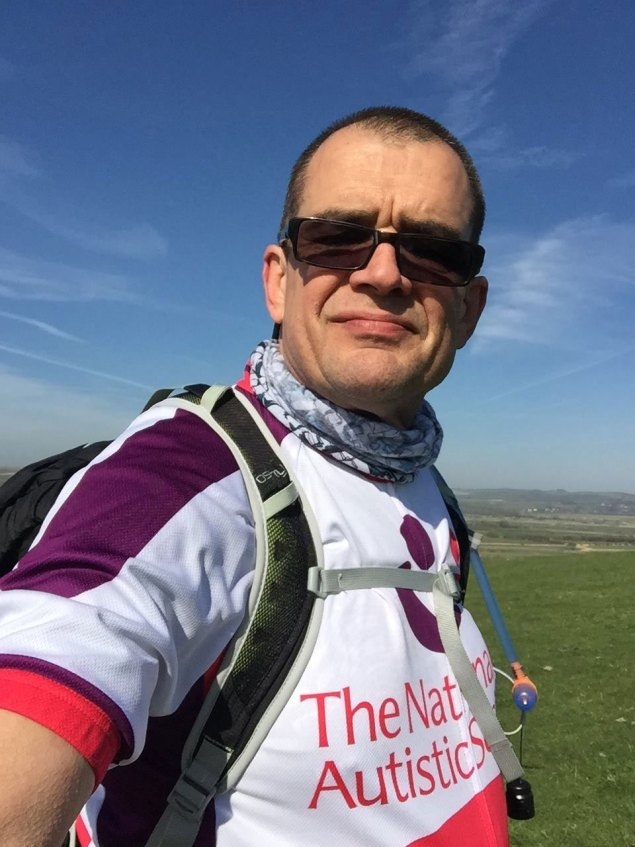 George Moss 185 mile walk around Sussex for autism