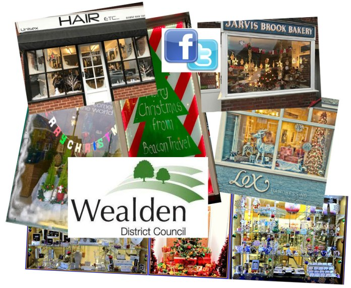 Wealden District Council Best Dressed Window Competition 2017