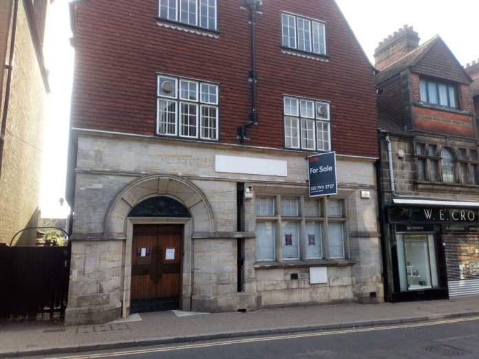 Former NatWest branch in Crowborough 7 High Street