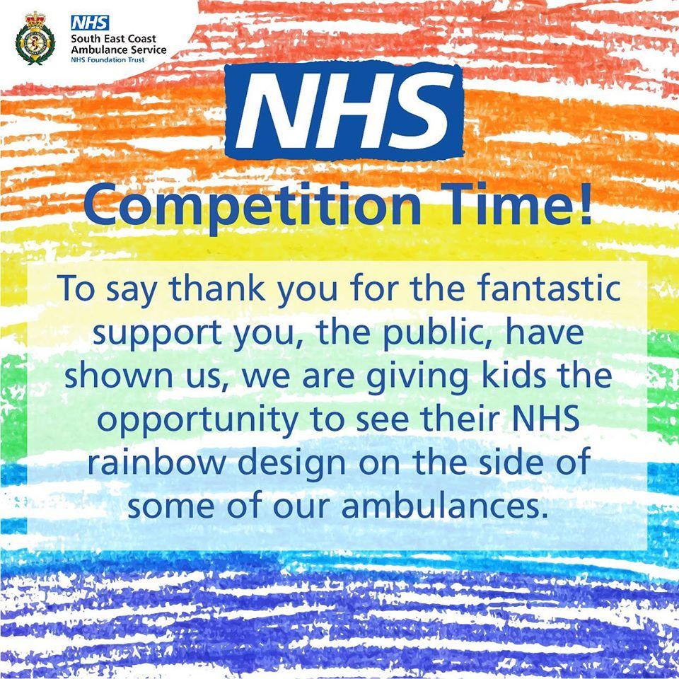 Ambulance Service Ambulance Rainbow Competition Kent, Surrey and Sussex