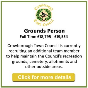 Job vacancy - Grounds Person - Crowborough Town Council