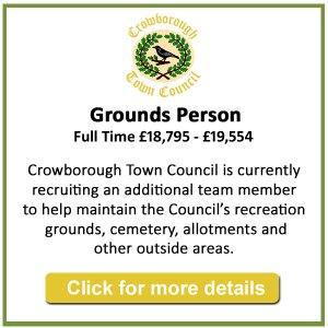 Job vacancy - Grounds Person - Crowborough Town Council