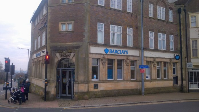 Photo of Barclays Bank at 1 High Street Crowborough.