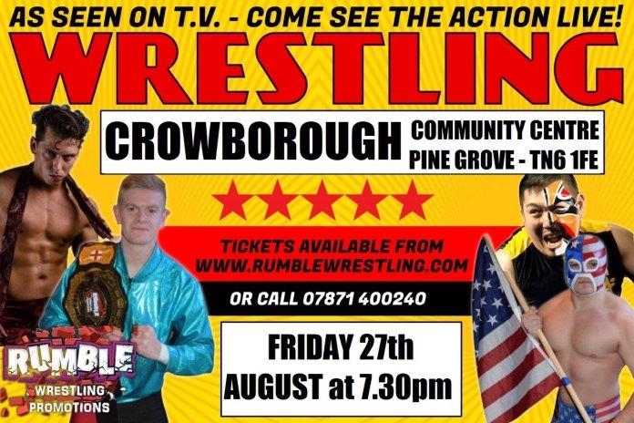 Wrestling Crowboorugh 27th August 2021