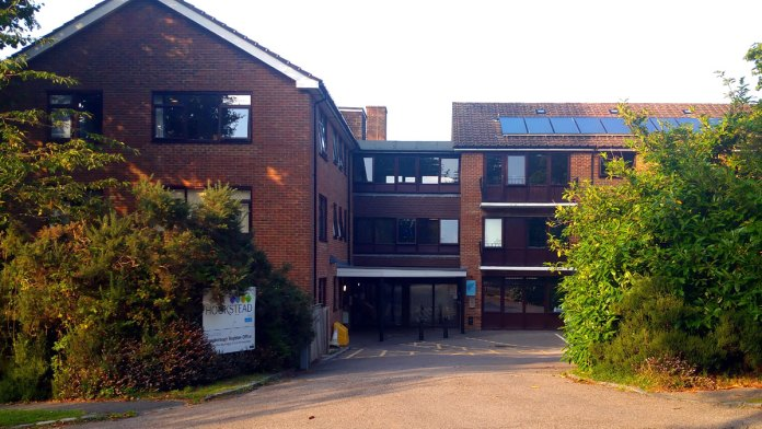 Photo of Hookstead day centre and Register Office on Goldsmith Avenue in Crowborough
