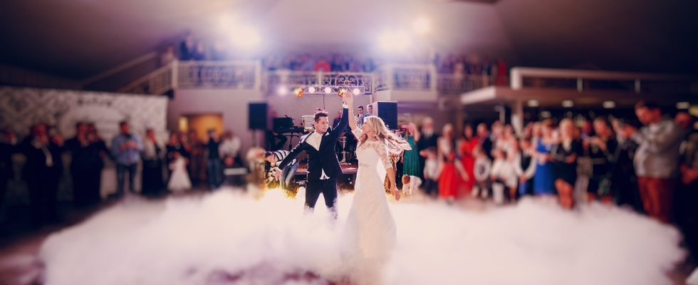 First Dance Dry Ice Effect