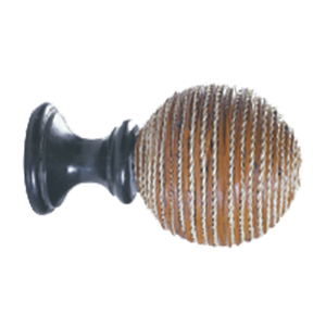 Crowder Designs Natural Elements Finial Collection | Twisted Fiber Ball