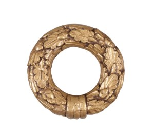 Crowder Designs Tie Back Collection | Leaf Ring