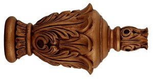 Crowder Designs Hand Carved Finial Collection | Mecca