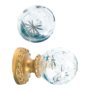 Crowder Designs Crystal Finial Collection | Crystal Medium Hollow Small Star