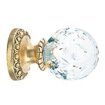 Crowder Designs Crystal Finial Collection   Crystal Medium Hollow Large Star
