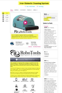 RoboTools Inc 3-in-1 Robotic Cleaning System
