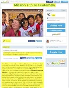 Jody Obena Mission Trip To Guatemala