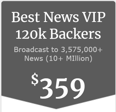 Best + News + VIP Backers 120,000+ Backers, Donors, Angel Investors & Influencer Database/Lists
