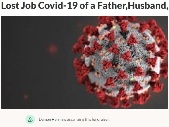 Lost Job Covid-19 of a Father Husband and Good Man