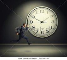businessman-and-big-white-clock