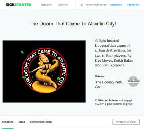 Fraude au crowdfunding chez Kickstarter