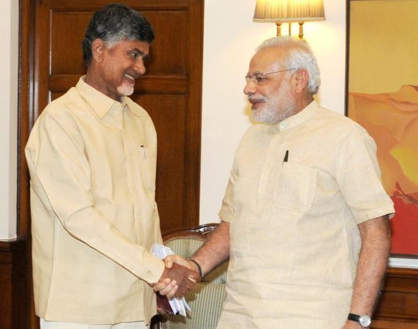 Why does Chandrababu Naidu keep on attacking Narendra Modi?