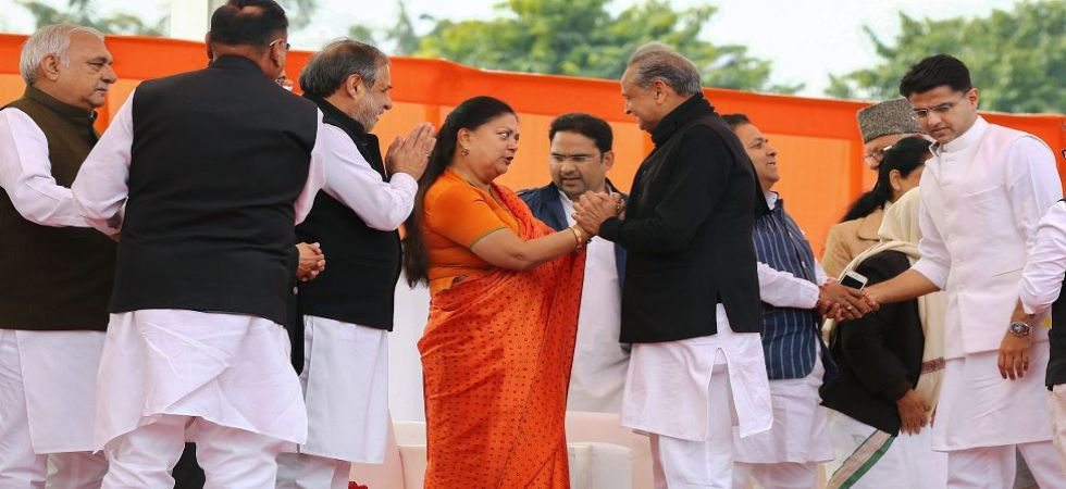 How many seats for BJP in Rajasthan?