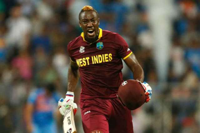 Andre Russell social Reuters