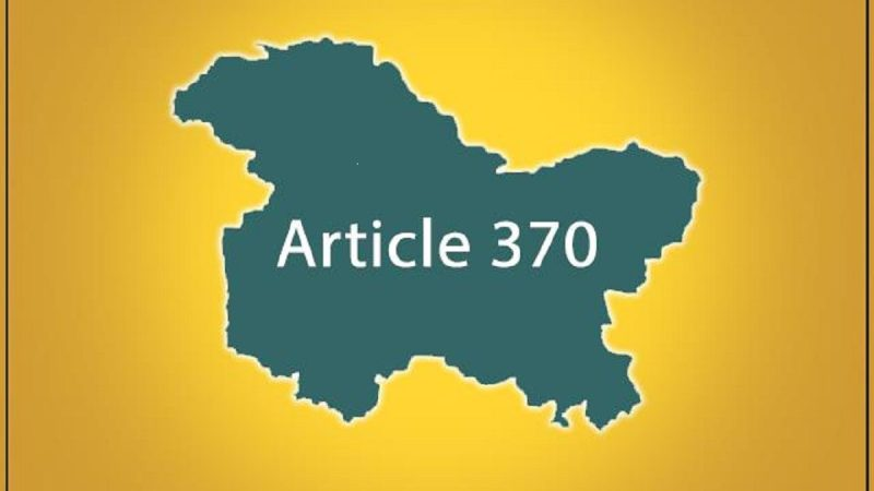 Article 370 : Is BJP playing with the emotions of Nation?
