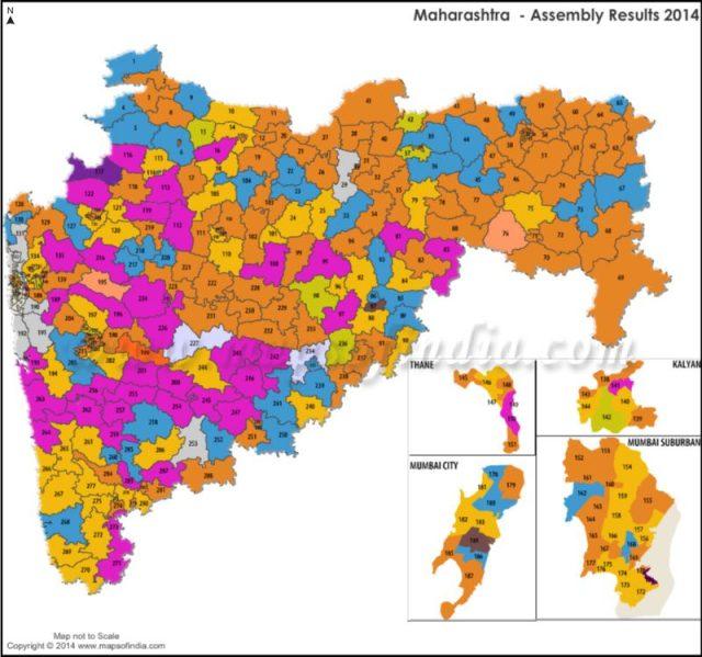 mahatrashtra assembly election result 2014