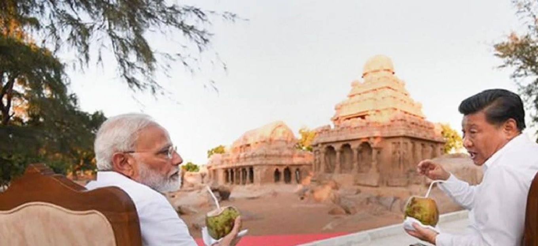 What happened at Mamallapuram during 2nd Informal Xi-Modi summit?