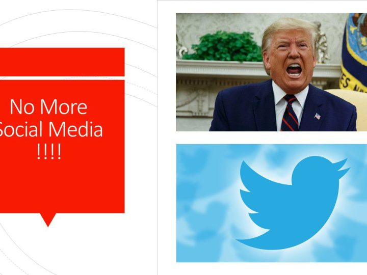 End of Social Media? Trump to ban Twitter ?