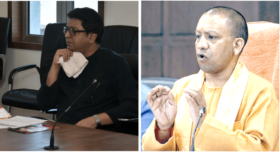 Raj Thackeray takes on Yogi Adityanath on Migrant Issue