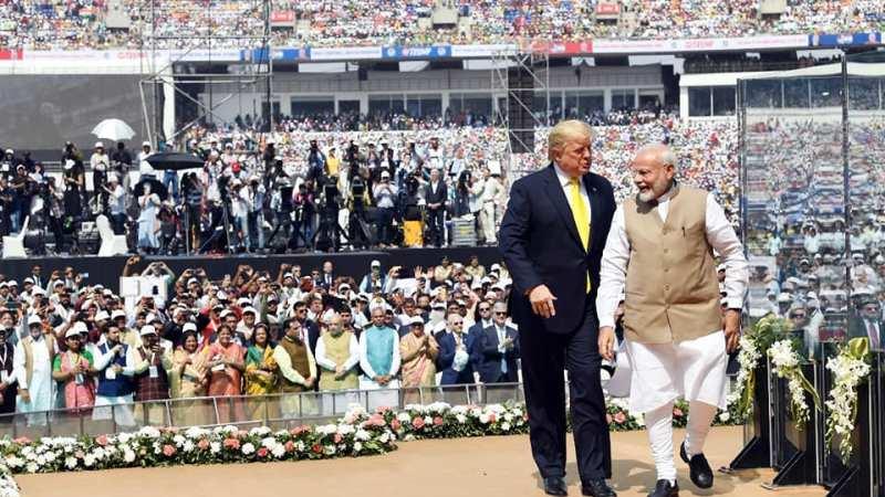 One place Trump beats Modi soundly!