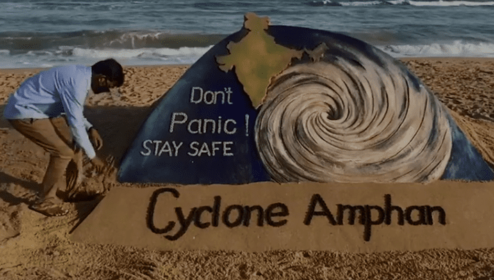 Million Lives at Stake as Cyclone Amphan heads closer to Land