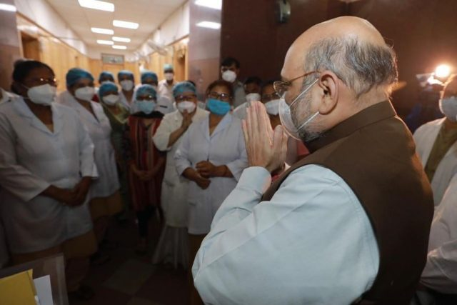 Amit Shah steps in as India records almost 14000 cases in a single day