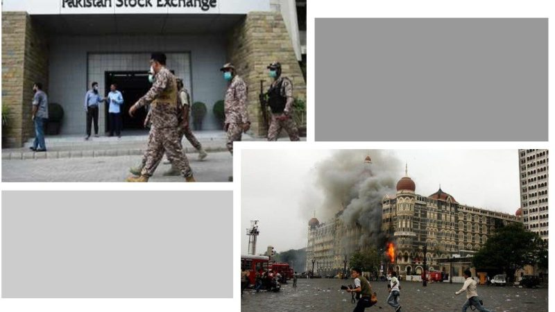 Pakistan Stock Exchange Attack