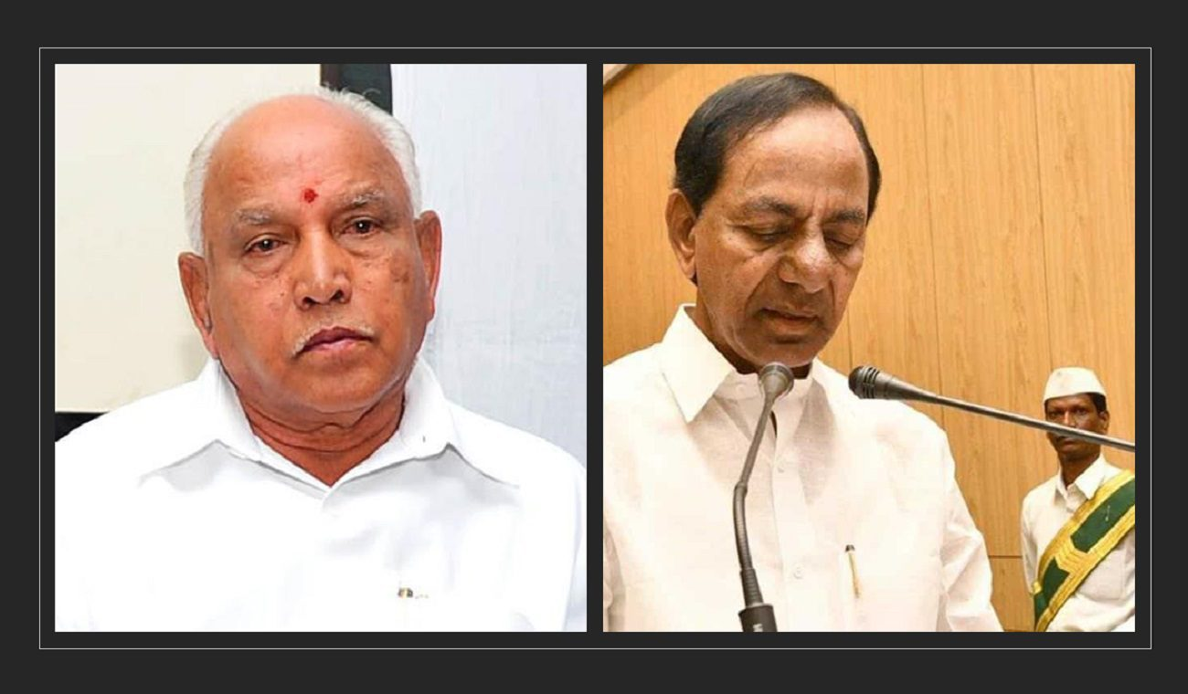 Covid Karnataka and Telangana Explode