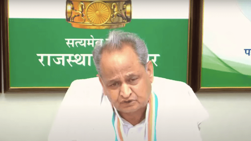 CM Ashok Gehlot under threat : 5 Reasons why BJP could topple him
