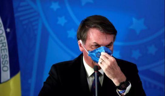 Bolsonaro Brazilian Immunity Fails as he is Covid 19 +ve